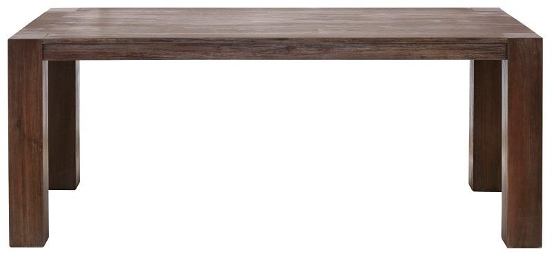 Mabel spisebord 220x100 - mørk acacietræ fra N/A fra unoliving.com