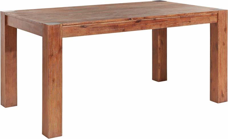 N/A – Marvin spisebord mørk acacie - 160x90 fra unoliving.com