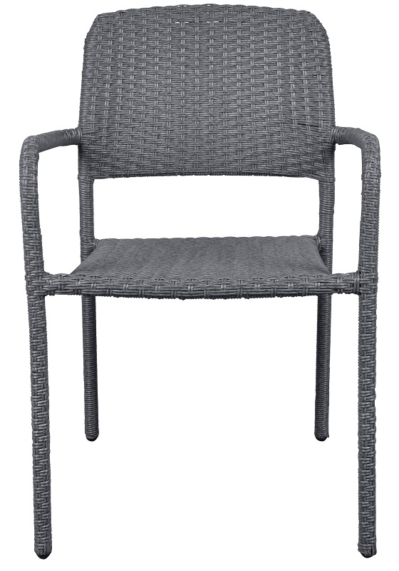 N/A – Maja havestol med armlæn - grå på unoliving.com