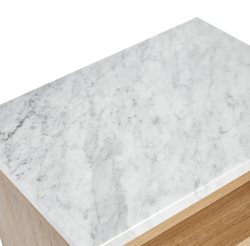 Mavis höllviken marmortop - lys grå fra Mavis på unoliving.com