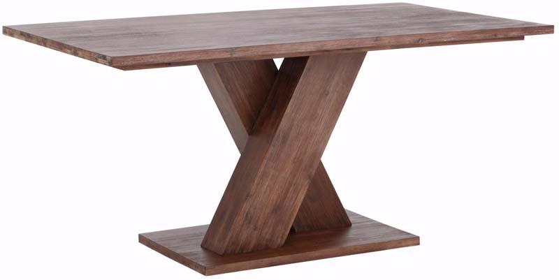 N/A Michael spisebord mørk acacietræ - 160x90 fra unoliving.com