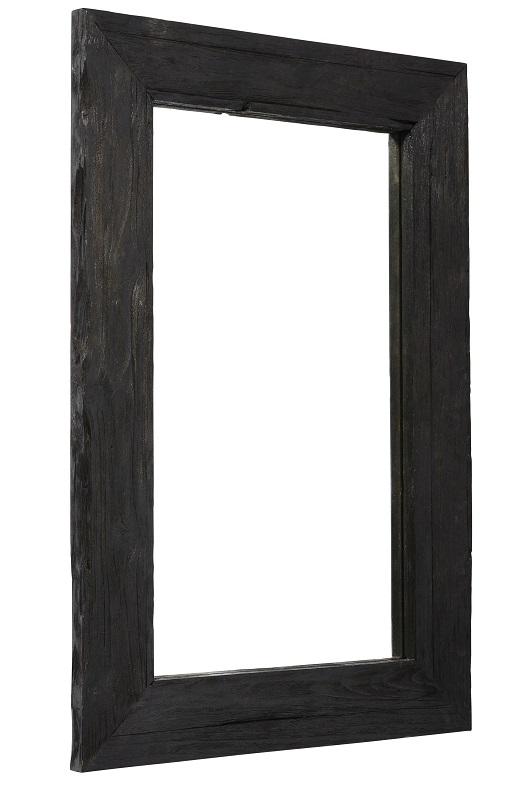 Muubs – Muubs - aino spejl 90x60 - sort teak træ på unoliving.com
