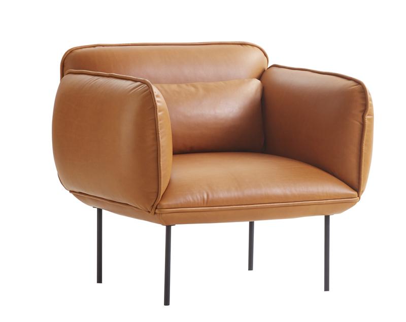 Woud - nakki lænestol - brun fra Woud på unoliving.com