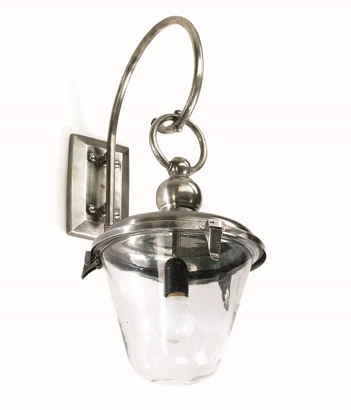 Nordal – Nordal - udendørs væglampe - sølv fra unoliving.com