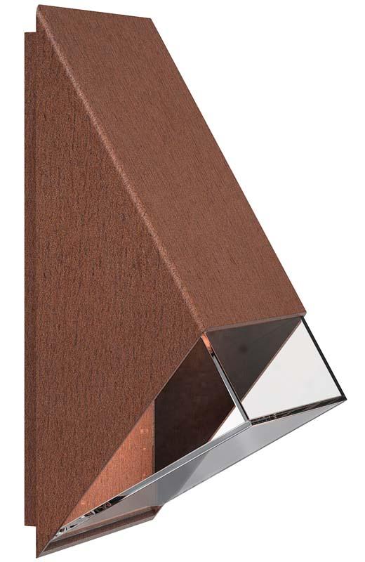 Design for the people – Nordlux dftp edge væglampe - rust på unoliving.com
