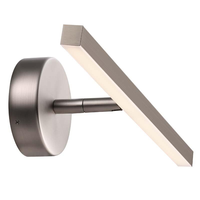 Nordlux dftp ip badeværelsesbelysning - børstet stål fra Design for the people fra unoliving.com