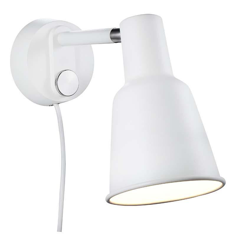 Nordlux dftp patton væglampe - hvid fra Design for the people på unoliving.com