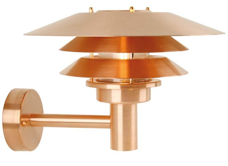 Nordlux dftp venø væglampe - kobber fra Design for the people fra unoliving.com
