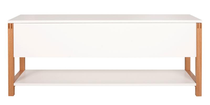 Woodman – Woodman - northgate bænk - hvid m. opbevaring på unoliving.com