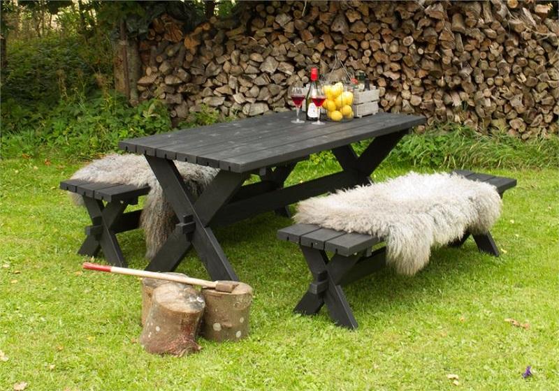 Plus - nostalgi plankesæt - sort fra N/A fra unoliving.com