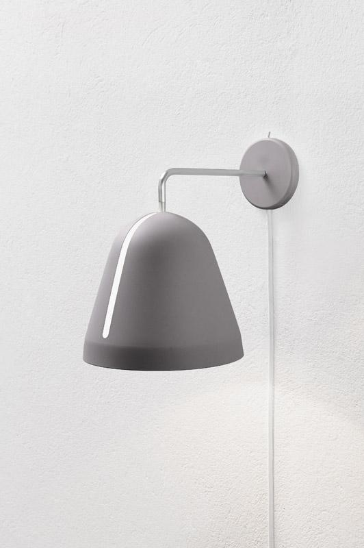 Nyta tilt væglampe - grå fra Nyta fra unoliving.com