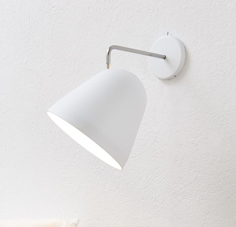 Nyta tilt væglampe - hvid fra Nyta på unoliving.com