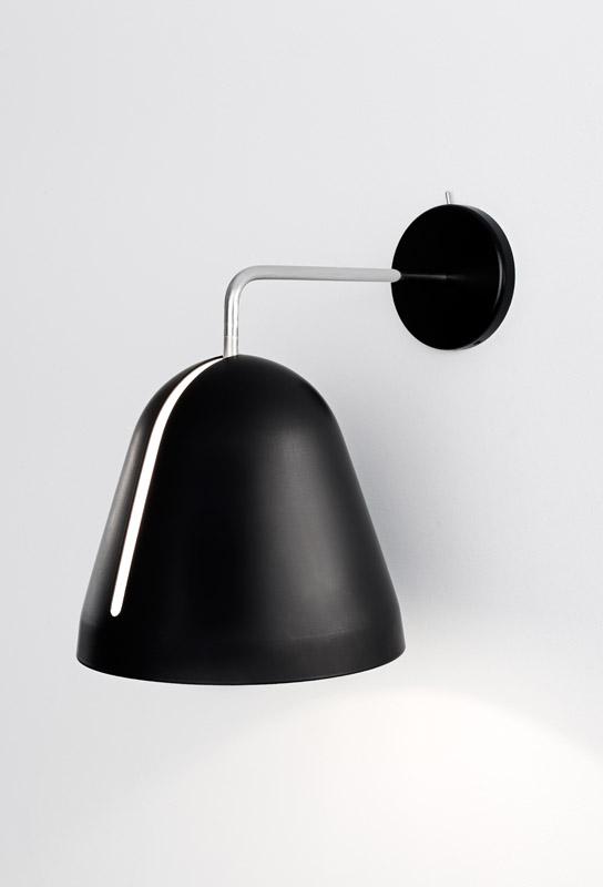 Nyta tilt væglampe - sort fra Nyta fra unoliving.com