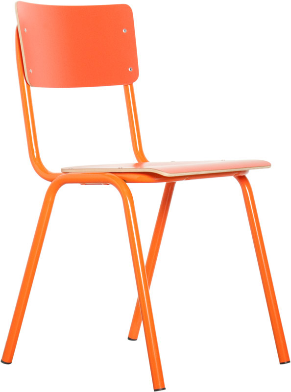 Zuiver – Zuiver - back to school stabelstol - orange fra unoliving.com
