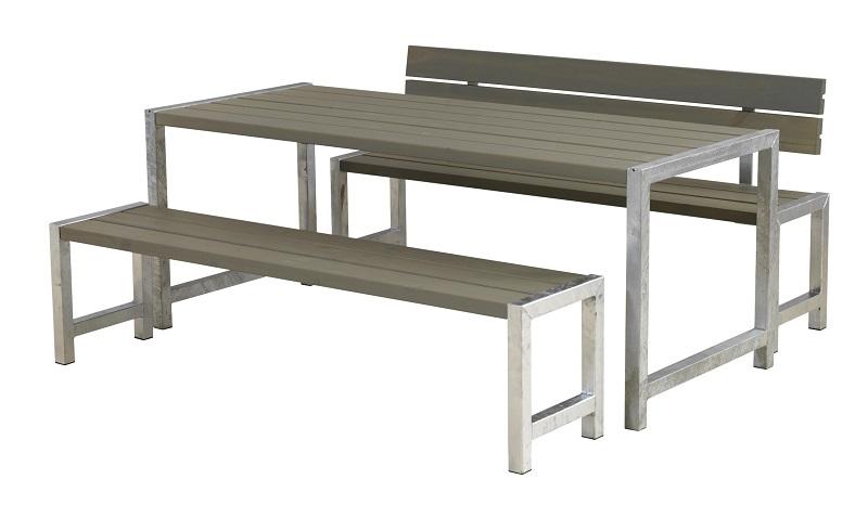 N/A Plus - plankesæt til 6 pers. - gråbrun fra unoliving.com