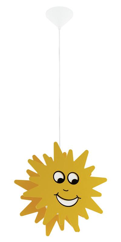 N/A – Junior 3 børnelampe - gul fra unoliving.com