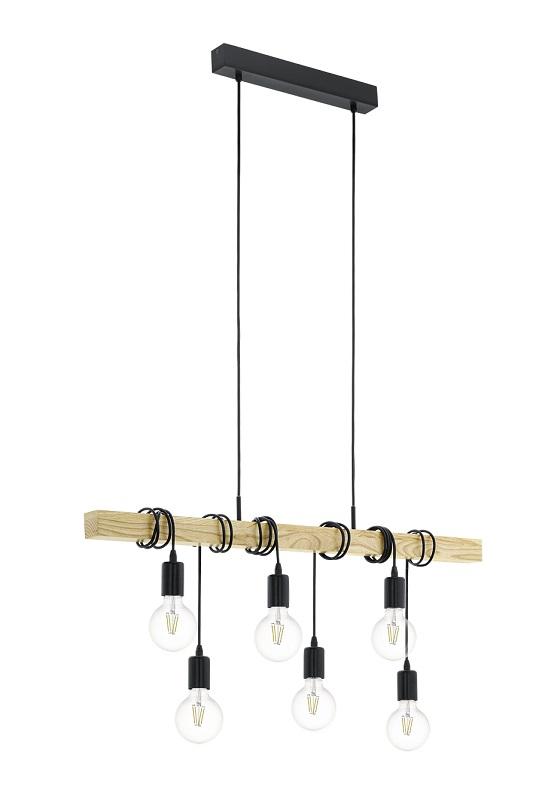 N/A Townshend pendler loftlampe - sort på unoliving.com