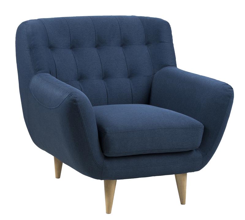N/A – Pitta lænestol - blå på unoliving.com
