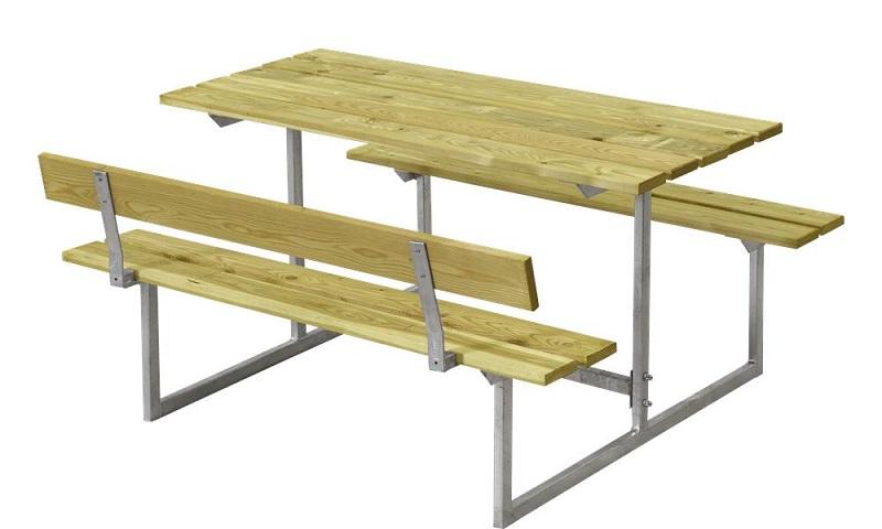 Plus - basic børne bord/bænkesæt 1 - trykimp. fra N/A fra unoliving.com