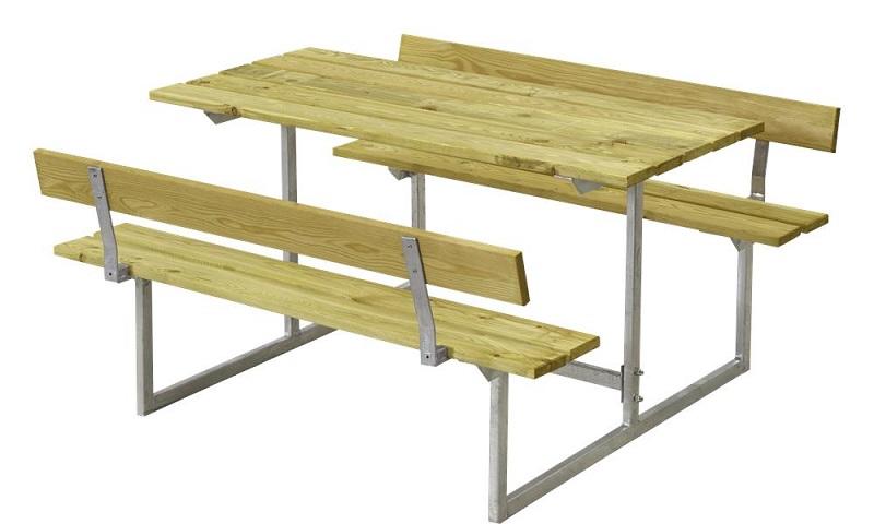 N/A Plus - basic børne bord/bænkesæt 2 - trykimp. på unoliving.com