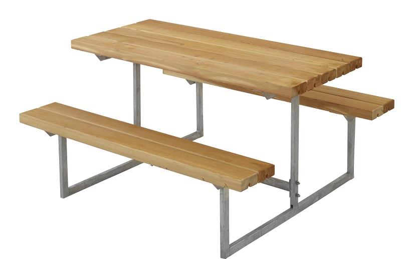 N/A Plus - basic børne bord/bænkesæt - oliebeh. lærk fra unoliving.com