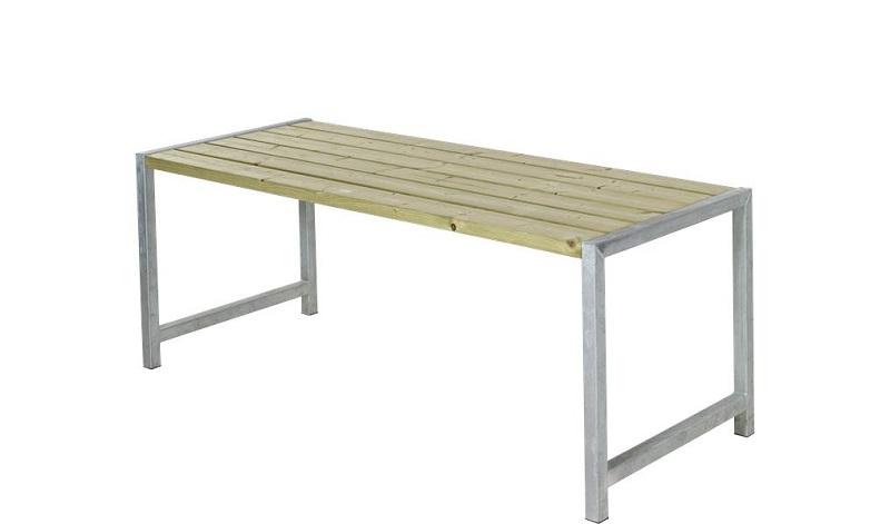 N/A Plus - havebord med planker 186x77 - trygimprægneret på unoliving.com