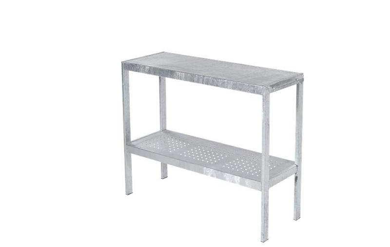 N/A Plus - plantebord 110x40cm - varmgalvaniseret stål fra unoliving.com