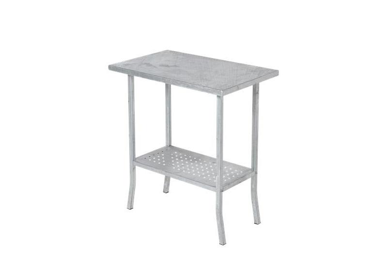 Plus - plantebord 75x45cm - varmgalvaniseret stål fra N/A på unoliving.com