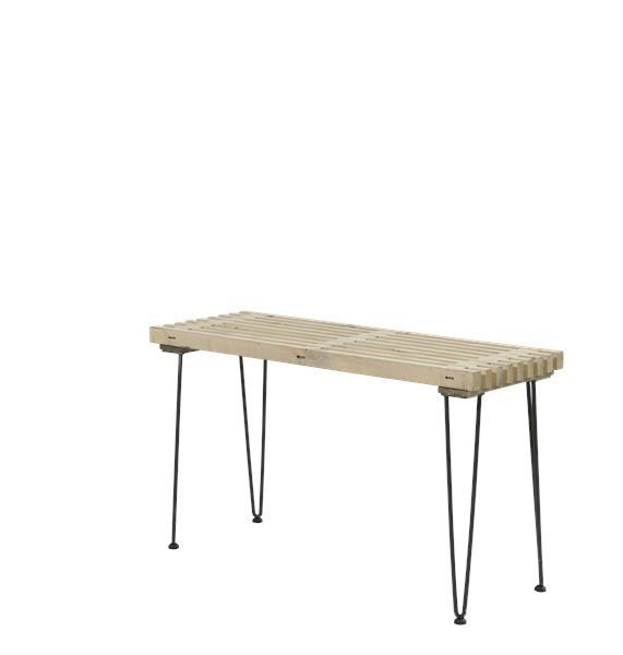 Plus - retro grillbord l140 - nye fsc trætraller fra N/A på unoliving.com