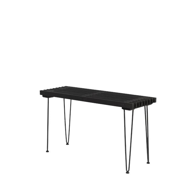 N/A Plus - retro grillbord l140 - grundmalet sort fra unoliving.com