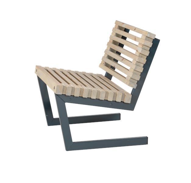 N/A – Plus - siesta loungestol - nye fsc trætraller fra unoliving.com
