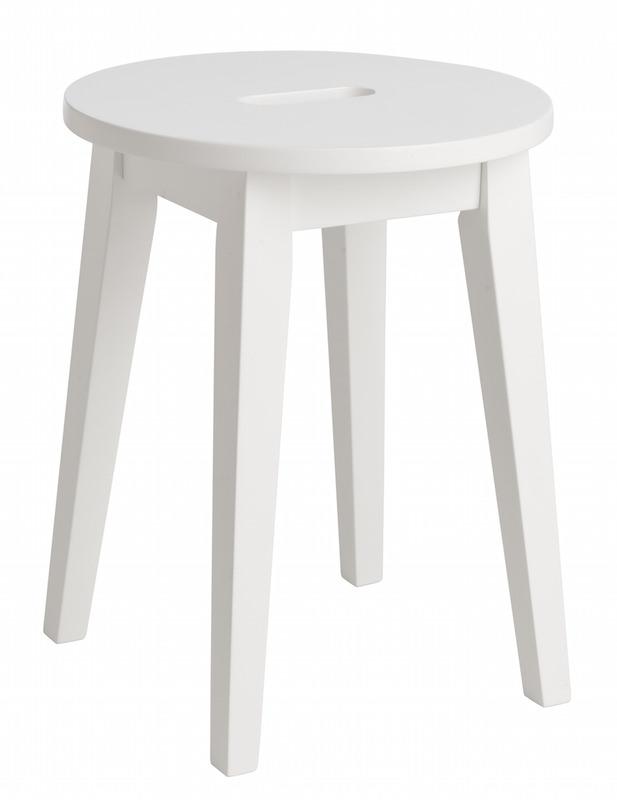 N/A Belina skammel - hvid på unoliving.com