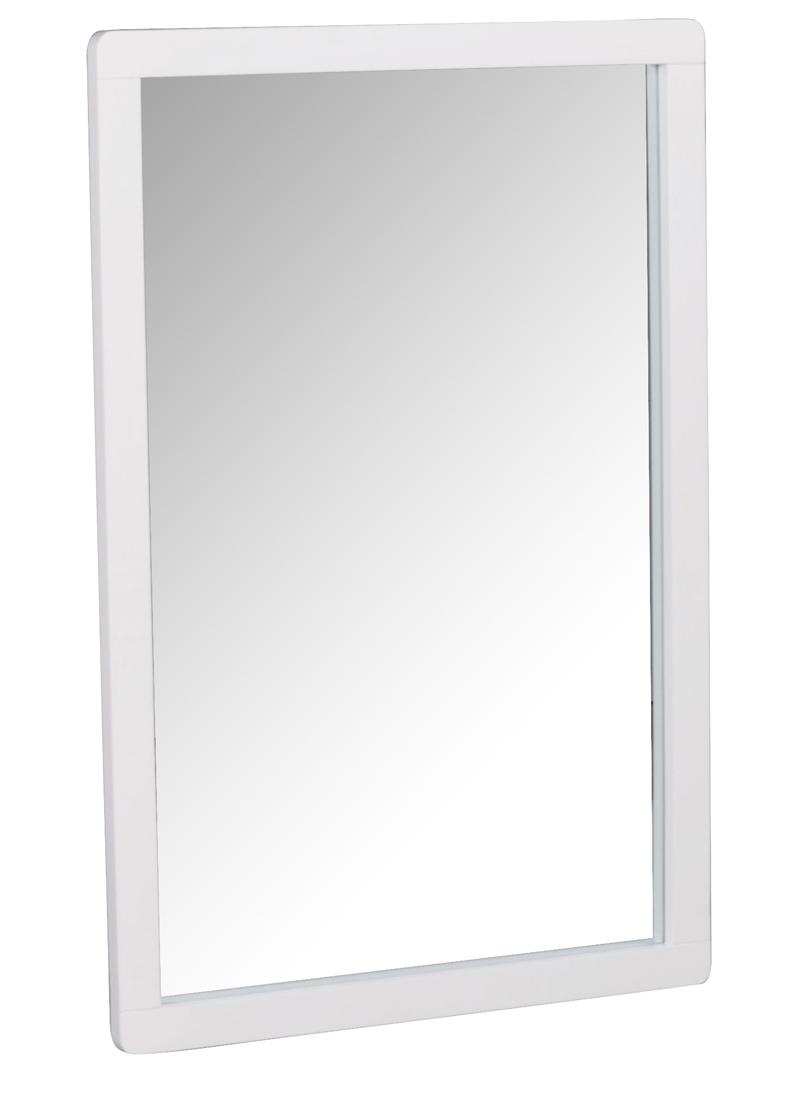 N/A – Eddie spejl - hvidmalet - 90x60 fra unoliving.com