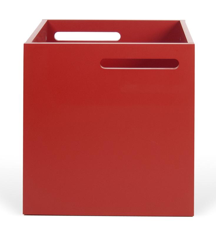 Temahome - berlin box - rød fra Temahome fra unoliving.com