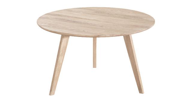 N/A – Bello sofabord - lystræ - ø90 fra unoliving.com