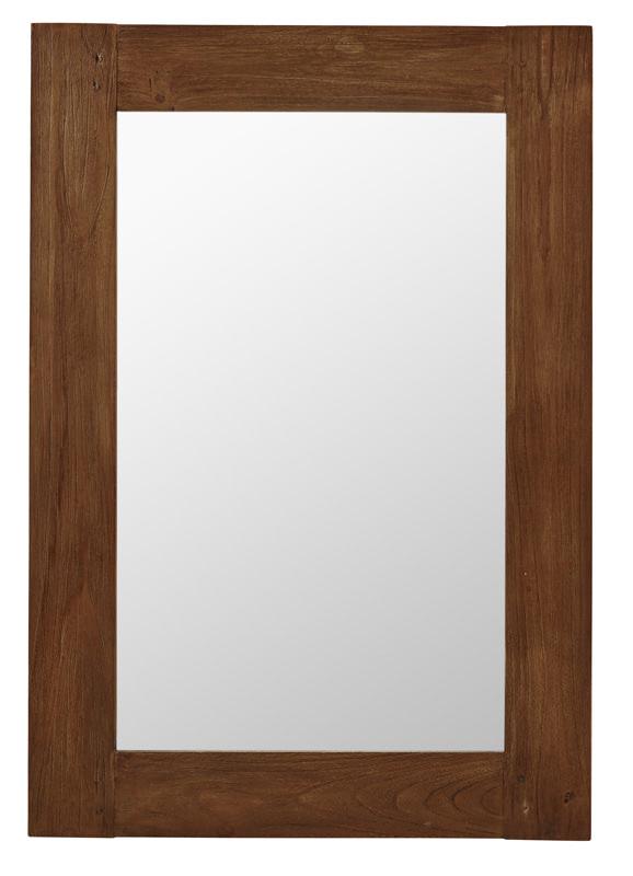 Sika-design Sika-design lucas spejl - teak 100x70 fra unoliving.com