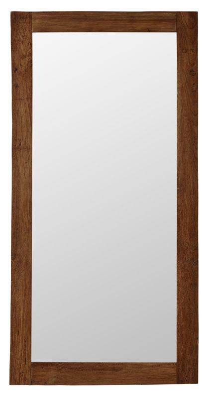 Sika-design lucas spejl - teak 180x90 fra Sika-design på unoliving.com