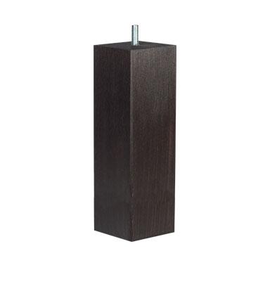 N/A – Firkantede sorte ben - 19 cm på unoliving.com