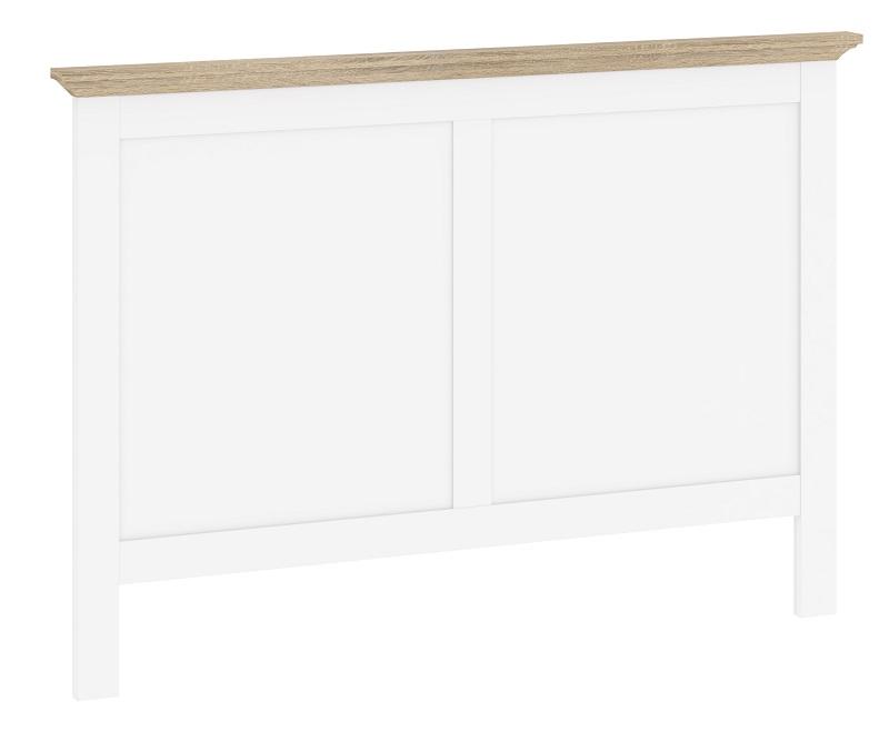 Paris sengegavl - 140 cm - hvid fra N/A fra unoliving.com