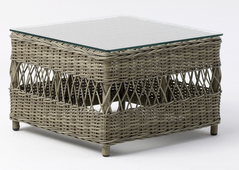 Sika-design – Sika-design glastop bordplade - 60x60 fra unoliving.com
