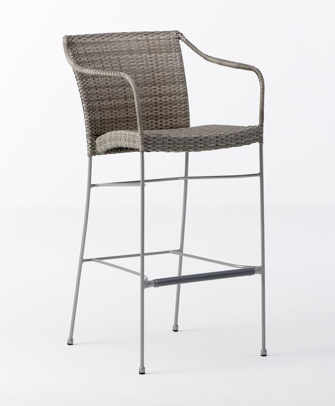 Sika-design pluto barstol - grå fra Sika-design på unoliving.com