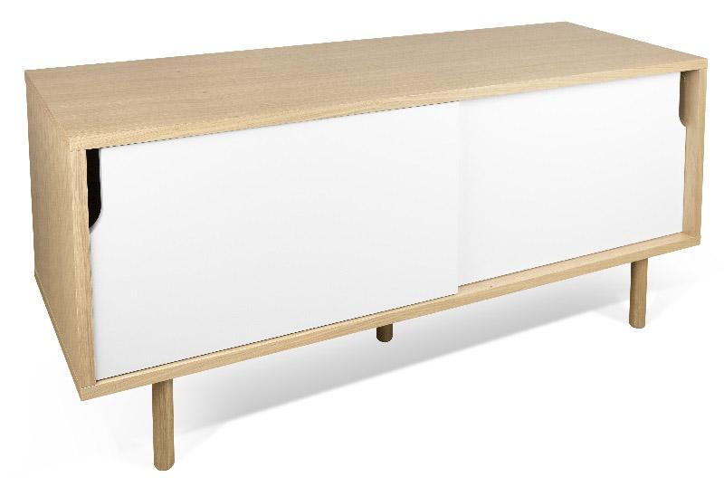 Temahome - dann tv-bord - hvid fra Temahome fra unoliving.com