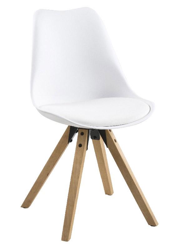 N/A Fryd - spisebordsstol - hvid på unoliving.com