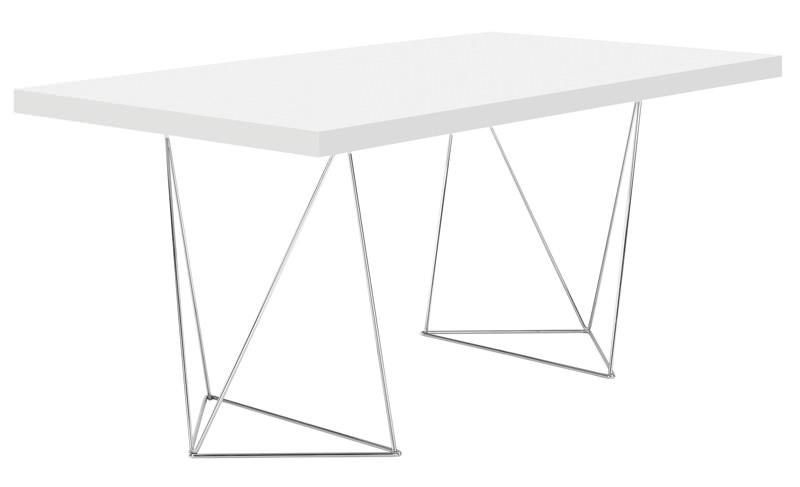 Temahome – Temahome - multi skrivebord - hvid 160 cm på unoliving.com