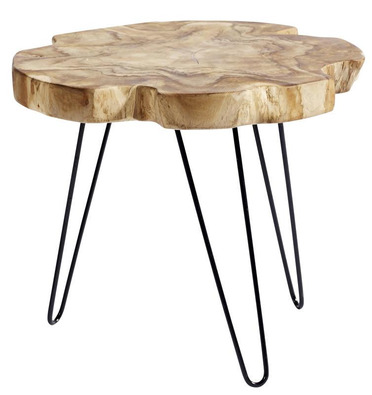 Muubs - root sofabord ø55 - teaktræ fra Muubs på unoliving.com