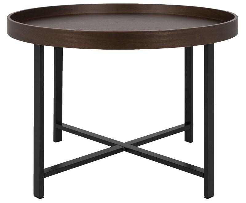 Canett jo sofabord - valnød finér - ø62 fra Canett på unoliving.com