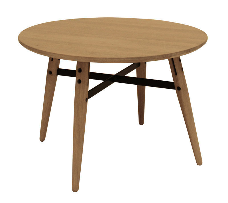 Canett – Canett kazu sofabord - olieret eg - ø60 fra unoliving.com