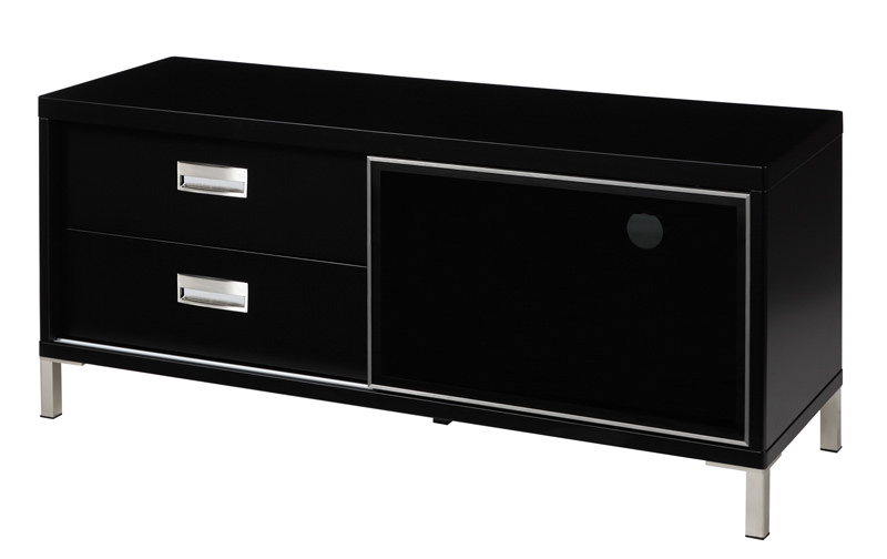 Future tv-bord - sort højglans b:116 fra N/A på unoliving.com
