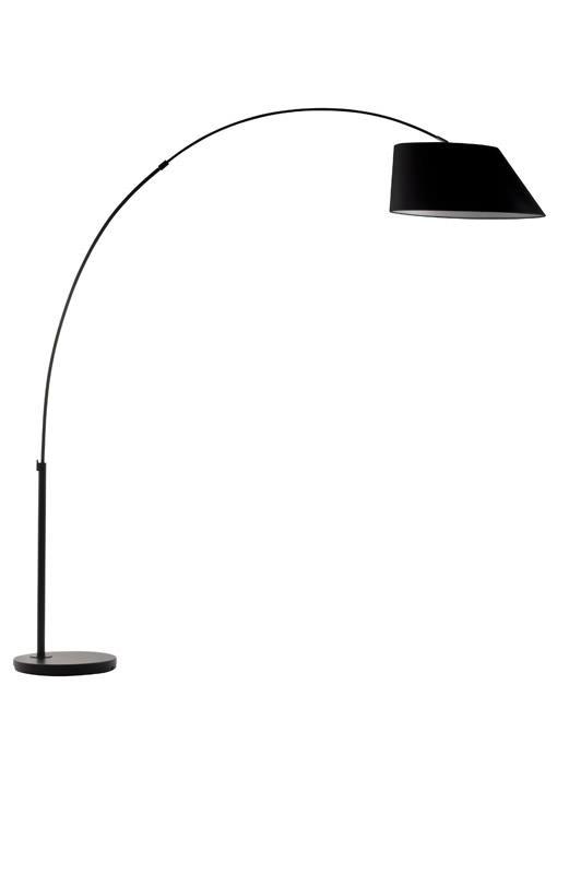 Zuiver Zuiver - arc gulvlampe - sort på unoliving.com