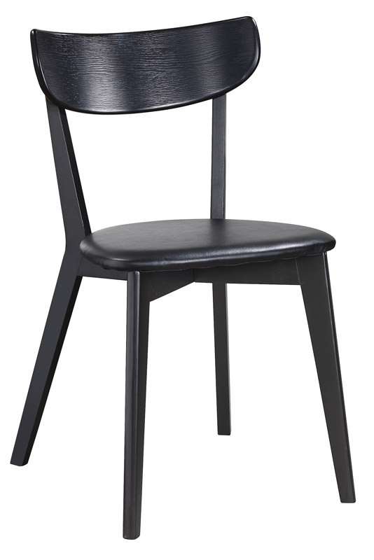 Vega spisebordsstol - sort m. sort pu sæde fra N/A fra unoliving.com
